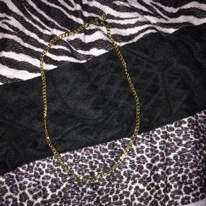 """Jewelry - 24"""" gold necklace"""